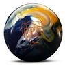 Roto Grip MVP Pearl Bowling Ball - Royal/Golden/White