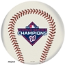2019 MLB World Series Champions - Washington Nationals Bowling Ball - Baseball