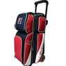 KR Strikeforce Fast Triple Roller Bowling Bag- Red/White/Blue