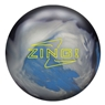 Radical Zing Hybrid Bowling Ball - Blue Solid/Silver/Charcoal Pearl