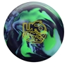 Roto Grip UFO Bowling Ball - Deep Purple/Baby Blue/Neon Green