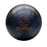 Ebonite Omni Bowling Ball - Black/Blue