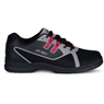 KR Strikeforce Men's Ignite Right Hand WIDE Bowling Shoes - Black/Grey/Red