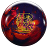 Roto Grip Nuclear Cell Bowling Ball - Purple Haze/Burnt Orange/Red Hot