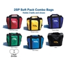 2 Ball Soft Pack Bag- 6 Colors Available