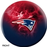 New England Patriots NFL On Fire Bowling Ball