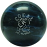 Candlepin Cobra Pro Rubber Bowling Ball- Blue/Black