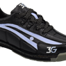 3G Ladies Tour Ultra Bowling Shoes Right Hand- Black/Periwinkle