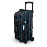 Storm Streamline 3 Ball Roller Bowling Bag- Black/Blue