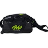 Motiv Ballistix Double Tote Roller Bowling Bag- Grey/Lime