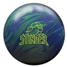 Ebonite Stinger Hybrid PRE-DRILLED Bowling Ball- Emerald Pearl/ Navy