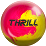 Motiv Thrill PRE-DRILLED Bowling Ball- PInk/Yellow