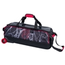 Hammer Dye Sub Widow Slim Triple Roller Bowling Bag - Black/Red