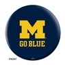 Michigan Wolverines Bowling Ball