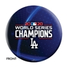 2020 World Series Champions Los Angeles Dodgers Bowling Ball - Blue Streak