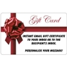 Customized Bowlerstore.com Email Gift Card