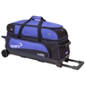 Ebonite Transport 3 Roller Bowling Bag- Blue/Black
