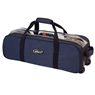 Team Ebonite 3 Ball Roller Tote Bowling Bag- Navy