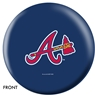 Atlanta Braves Bowling Ball