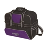 Storm 2 Ball Deluxe Tote Bowling Bag- Black/Purple