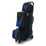 Elite 3-4-5 Deluxe Roller Bowling Bag- Black/Royal