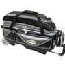 Elite Triple Platinum Roller Bowling Bag- Black/Silver