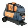 NFL Double Roller Bowling Bag- Chicago Bears