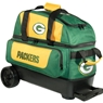 NFL Double Roller Bowling Bag- Green Bay Packers