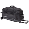 Ebonite Transport 3 Roller Bowling Bag- Black