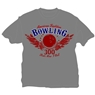 That's How I Roll Bowling T-Shirt- Gray