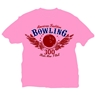 That's How I Roll Bowling T-Shirt- Pink