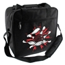 Bowlerstore Pin Splash Bowling Bag- Black/White/Red