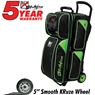 KR Lane Rover 3 Ball Bowling Bag- Black/Lime