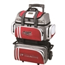 Storm 4 Ball Rolling Thunder Bowling Bag- Grey/Red/White