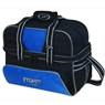 Storm 2 Ball Deluxe Tote Bowling Bag- Blue/Silver