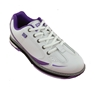 Brunswick Ladies Curve Bowling Shoes- White/Purple
