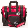 Linds Laser Deluxe Single Bowling Bag- Red/Black