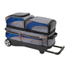 Track Premium 3 Ball Roller Bowling Bag- Blue/Gray