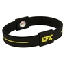 EFX Silicone Sport Wristband- Black/Yellow