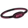 EFX Silicone Oval Wristband- Black/Pink