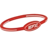 EFX Silicone Oval Wristband - Red/White