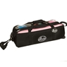Linds Triple Tote Roller Bowling Bag- Black/Pink