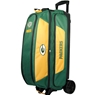 NFL Triple Roller Bowling Bag- Green Bay Packers