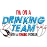 Drinking Team with Bowling Problem Towel