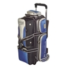 Storm Rolling Thunder 3 Bowling Bag- Blue/Black/Silver