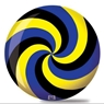 Brunswick Spiral Viz A Ball Bowling Ball- Black/Blue/Yellow