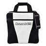 Gear Single White Series Bowling Bag- White/Black