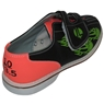 Linds Youth Flame Glow Rental Bowling Shoes- Velcro