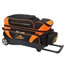 Hammer Premium 3 Ball Roller Bowling Bag- Black/Orange