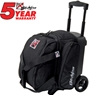 KR Cruiser Single Roller Bowling Bag- Black